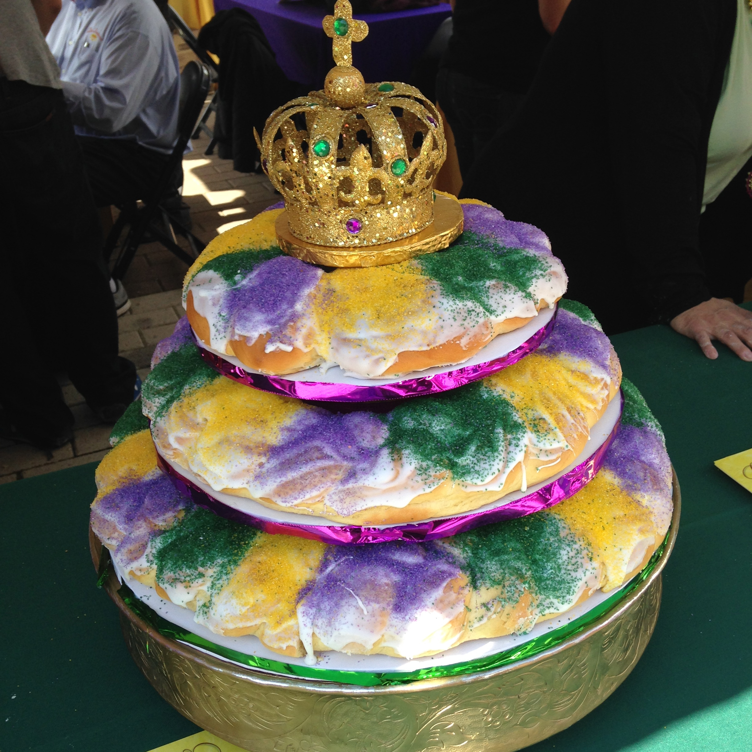 Bakery In New Orleans King Cake
